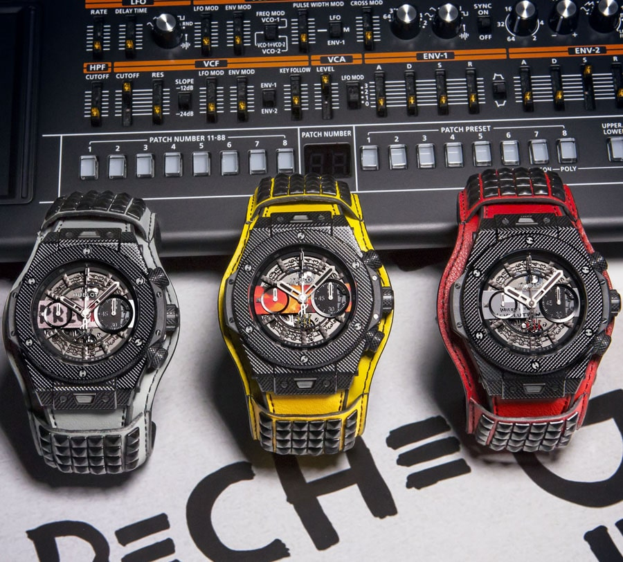 "Hublot: Big Bang Depeche Mode ""The Singles"""
