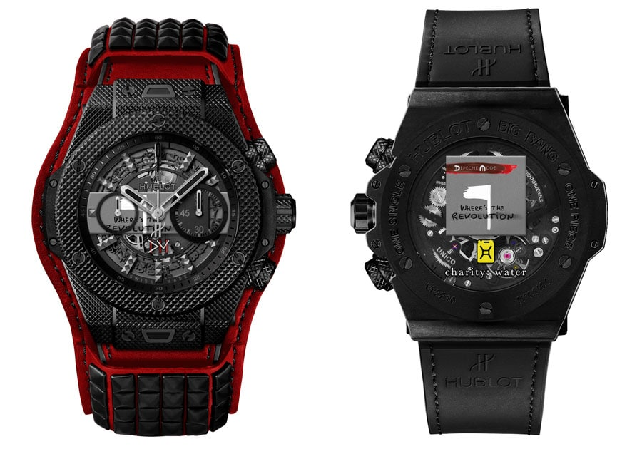 "Hublot Big Bang Depeche Mode The Singles Limited Edition: Modell ""Revolution"""
