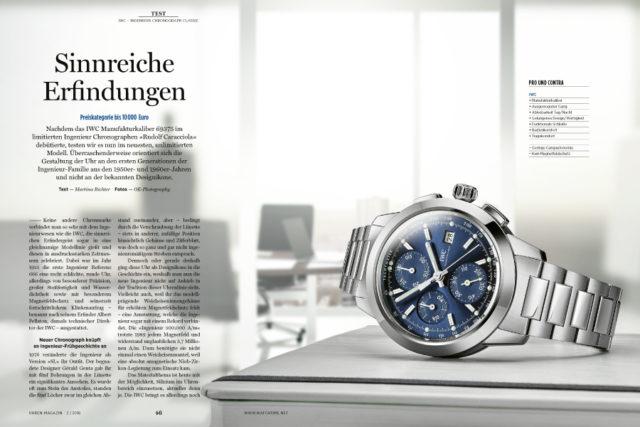 UHREN-MAGAZIN-Test: IWC Ingenieur Chronograph Classic