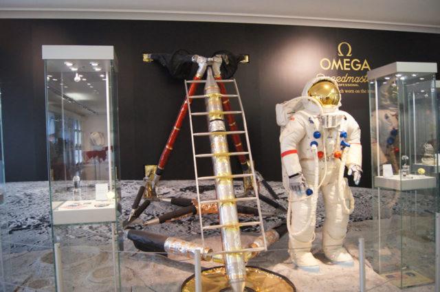 Reise durch Zeit und Raum: das Omega-Museum