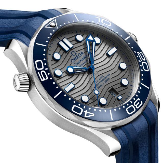 Omega: Die neue Seamaster Professional Diver 300M in Edelstahl mit blauer Keramiklünette