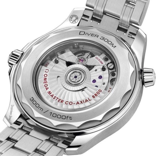 Omega: Die neuen Seamaster Professional Diver 300M-Modelle sind mit dem Master Chronometer Kaliber 8800 ausgestattet