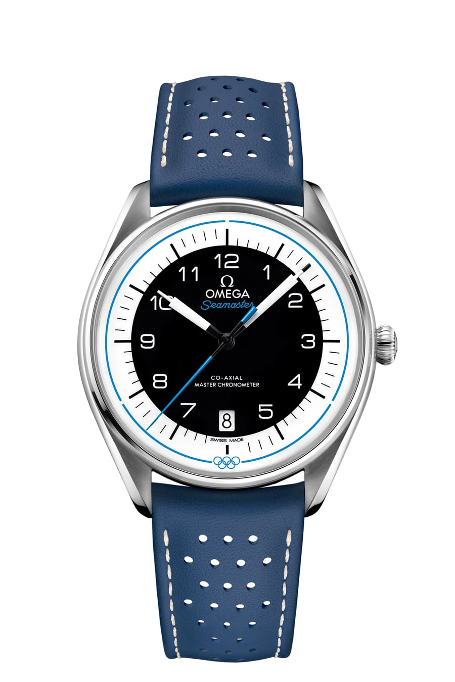 Omega Seamaster Olympic Games Collection in Blau (Referenz: 522.32.40.20.01.001)