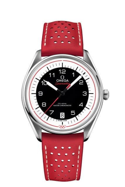 Omega Seamaster Olympic Games Collection in Rot