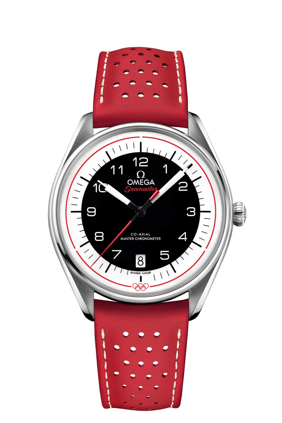 Omega Seamaster Olympic Games Collection in Rot (Referenz:522.32.40.20.01.004)