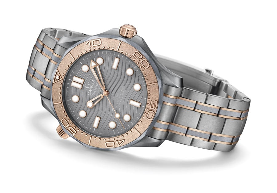 Omega: Limitierte Seamaster Professional Diver 300M in Tantal