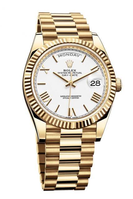 Platz 8 der beliebtesten Uhrenmodelle 2018 (Januar bis Juni): Rolex Day-Date