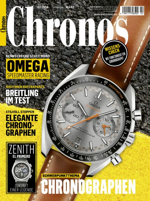 Chronos 02.2018 mit Chronographenschwerpunkt