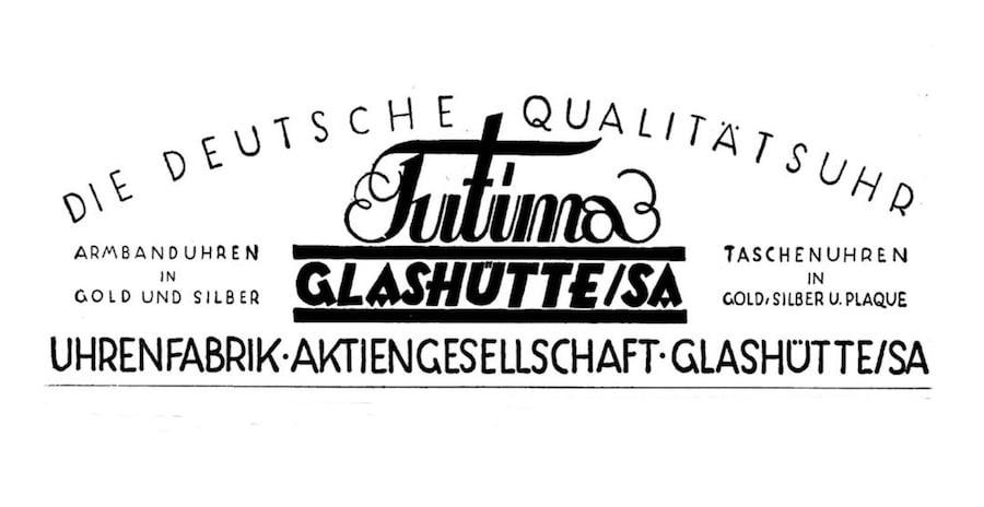 Das historische Tutima Logo.