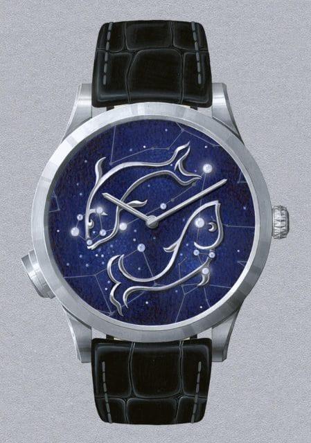 Van Cleef & Arpels: Midnight Zodiac Lumineux; Modell Fische