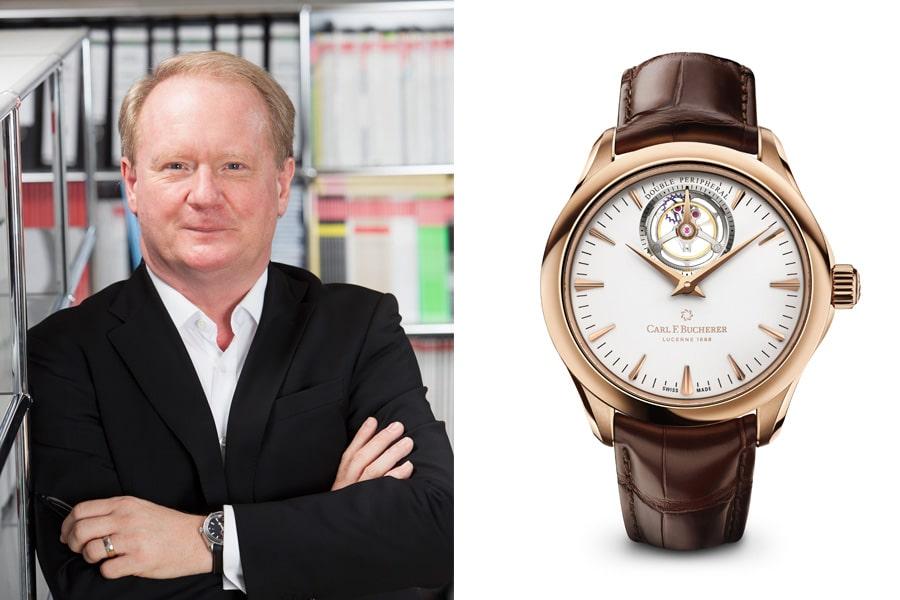 Thomas Wanka, Chefredakteur UHREN-MAGAZIN, wählt die Carl F. Bucherer Manero Tourbillon Double Peripheral.
