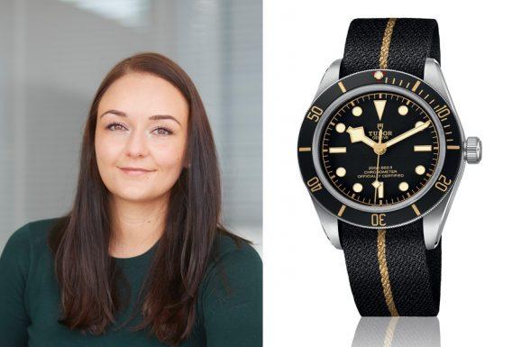 Die Tudor Black Bay Fifty-Eight ist der Baselfavorit von Melanie Feist, verantwortliche Redakteurin watchtime.net.