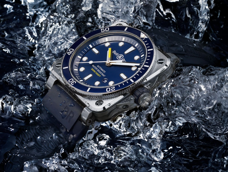 Bell & Ross: BR03-92 Diver Blue