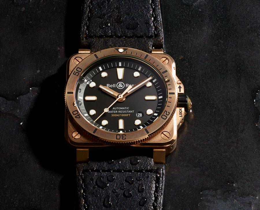 Bell & Ross: BR03-92 Diver Bronze
