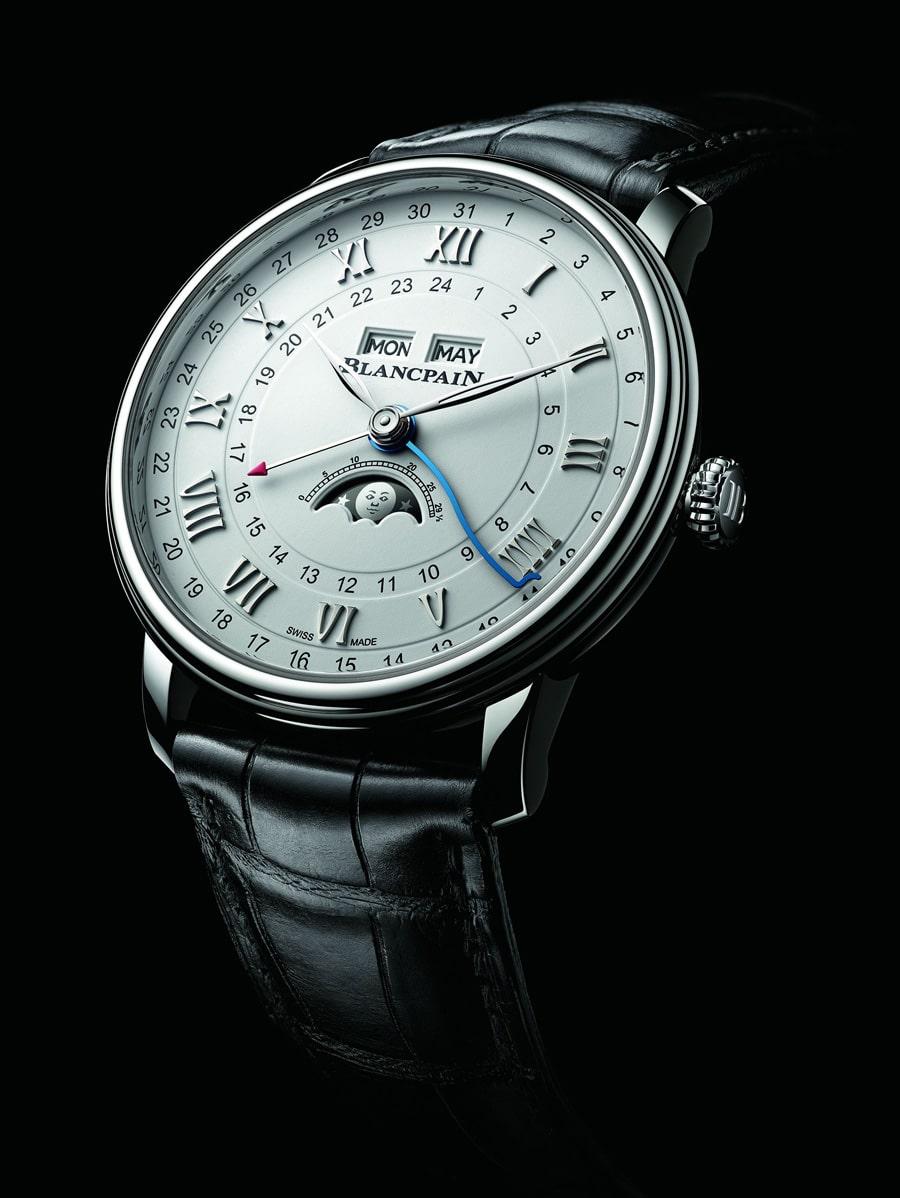 Blancpain: Villeret Quantième Complet GMT