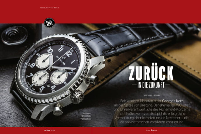 Große Breitling-Neuheit: Kollektionsübersicht und historische Herleitung der Navitimer 8