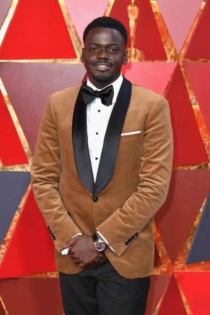 """Daniel Kaluuya, nominiert als bester Schauspieler im Film """"Get Out"""", trägt einen IWC Ingenieur Chronograph"""