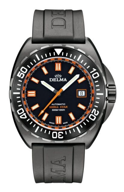 Delma: Shell Star Black Tag