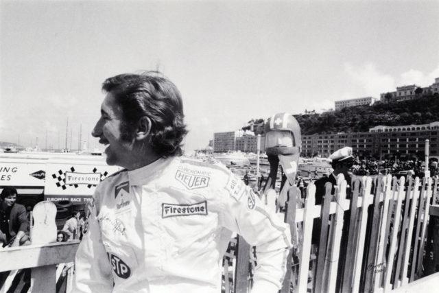 Der Schweizer Jo Siffert – hier beim Grand Prix in Monaco - war der erste Formel-1-Rennfahrer, mit dem Heuer eine Partnerschaft einging.