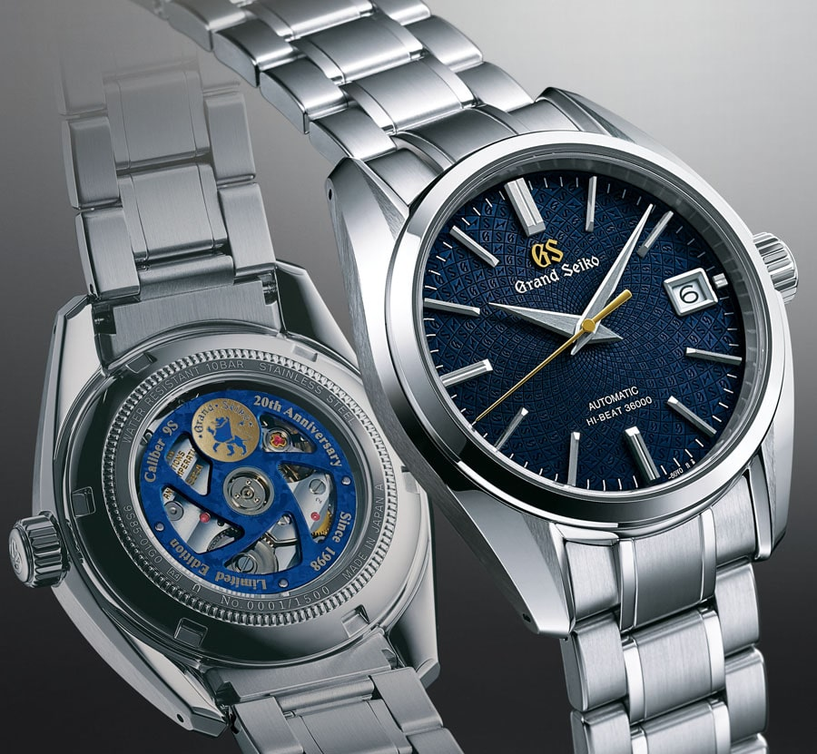 Grand Seiko: Grand Seiko Jubiläumsedition 20 Jahre Kaliber 9S Limited Edition