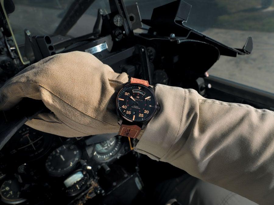 Hamilton: Khaki Pilot Auto