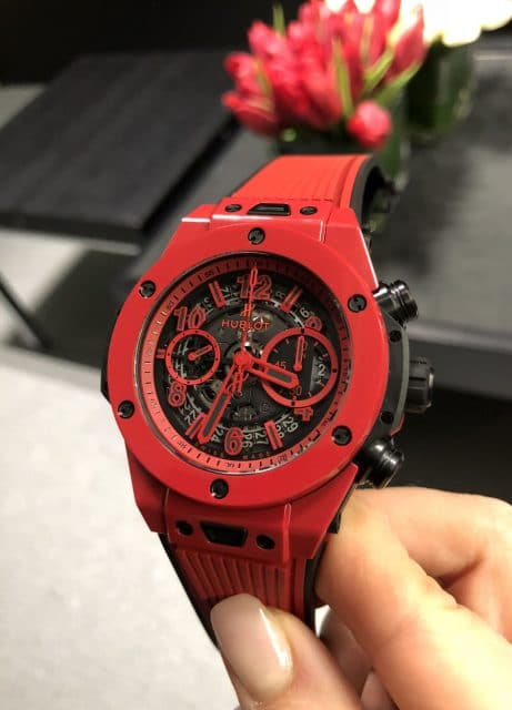 Hublot Big Bang Unico Red Magic in leuchtend roter Keramik