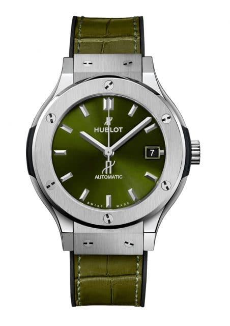 Hublot: Classic Fusion Green 38 mm