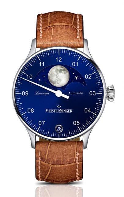 Meistersinger: Lunascope blau
