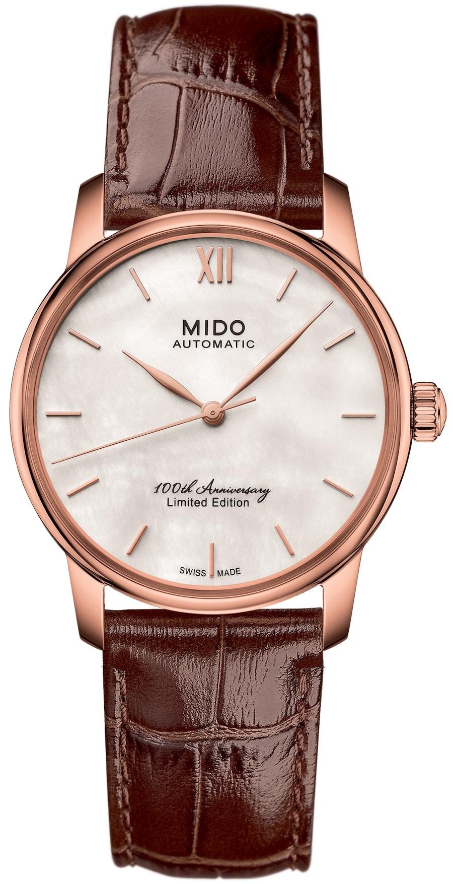 Mido: Baroncelli 100th Anniversary Limited Edition für Damen
