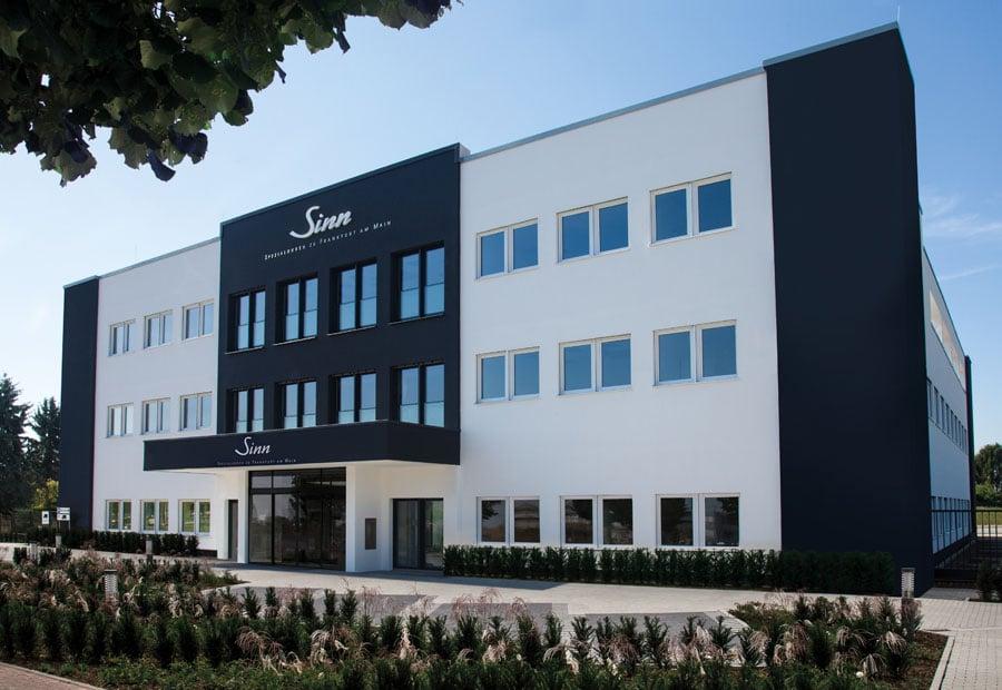 Neuer Hauptsitz von Sinn Spezialuhren seit 1. September 2017 in Frankfurt-Sossenheim