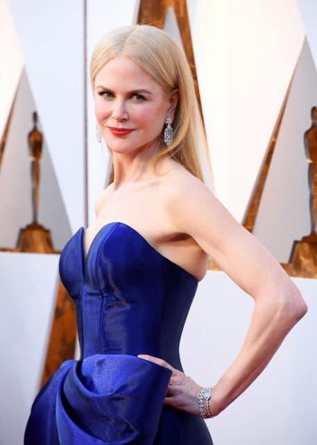 Nicole Kidman trägt eine Omega-Schmuckuhr von 1953