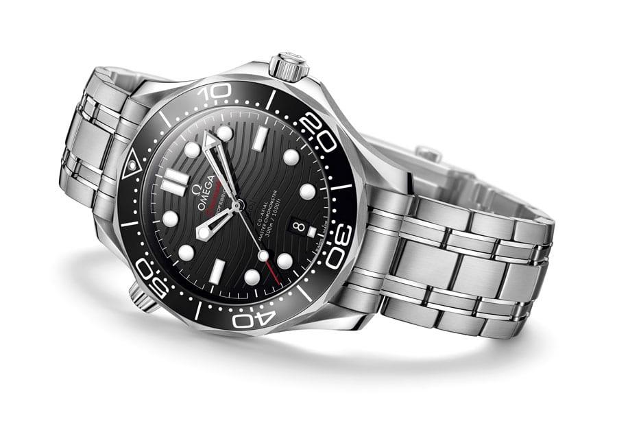 Omega: Seamaster Diver 300M in Edelstahl mit Edelstahlband