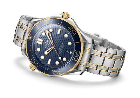 Omega: Seamaster Diver 300M in einer Edelstahl-Gold-Kombination