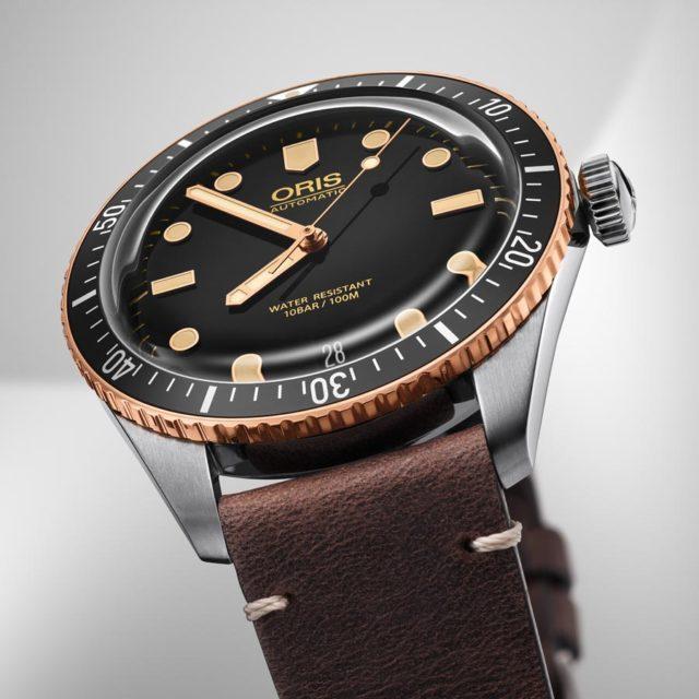 Oris Divers Sixty-Five in Edelstahl und Bronze