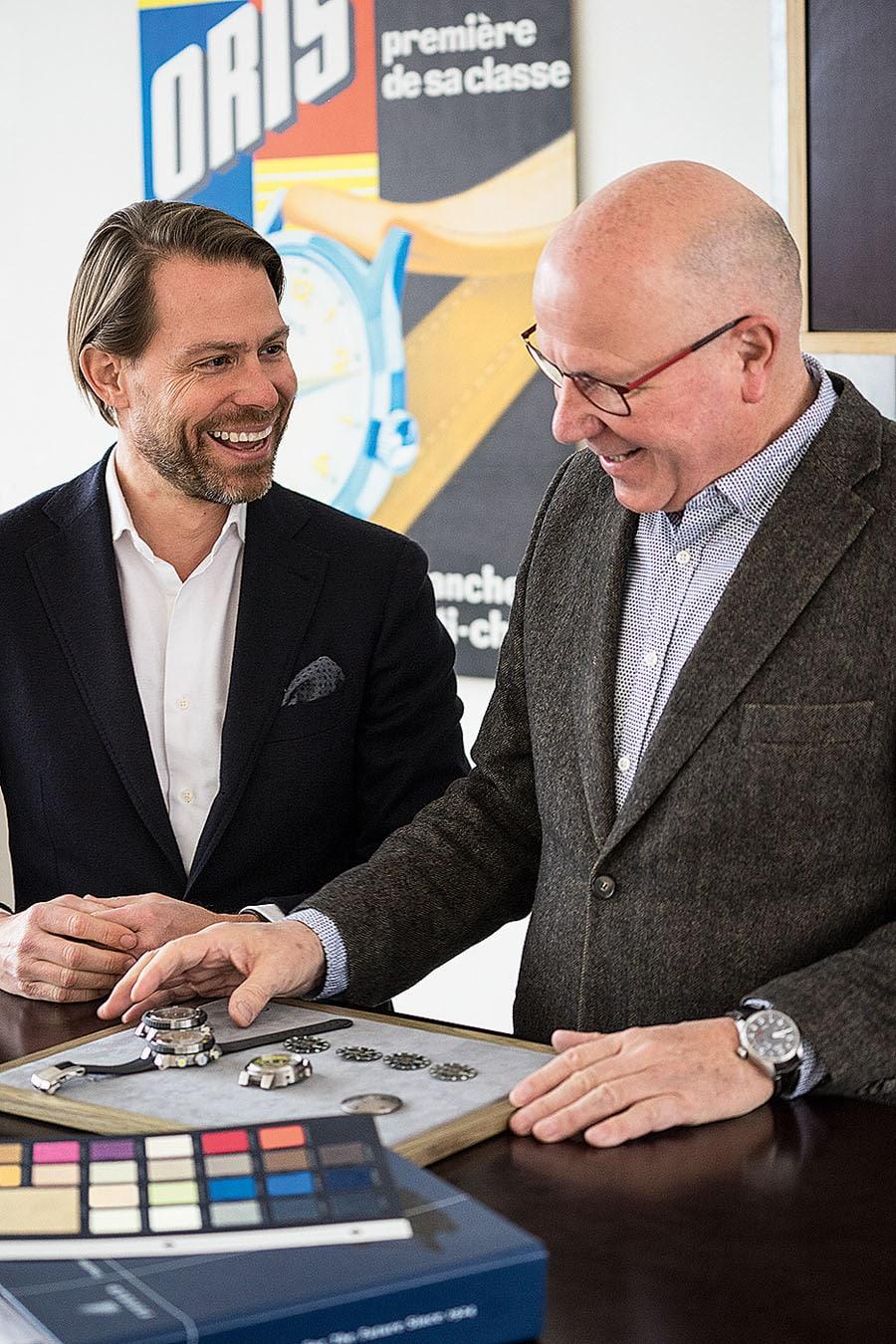 Oris: Rolf Studer und Ulrich W. Herzog