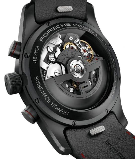 Porsche Design: Chronotimer Flyback Special Edition mit dem automatischen Uhrwerk 01.200
