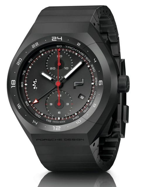 Porsche Design: Monobloc Actuator 24H Chronotimer All Black