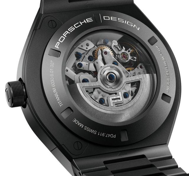Porsche Design: Monobloc Actuator 24H Chronotimer All Black Uhwerk auf Eta-Basis