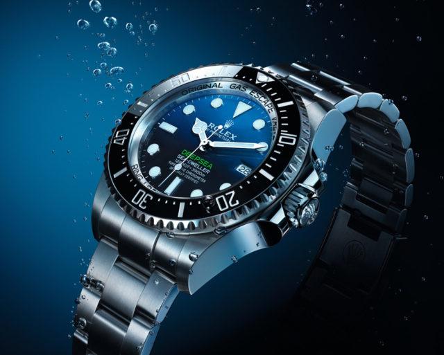 Rolex: Oyster Perpetual Deepsea von 2018 mit blauem Zifferblatt