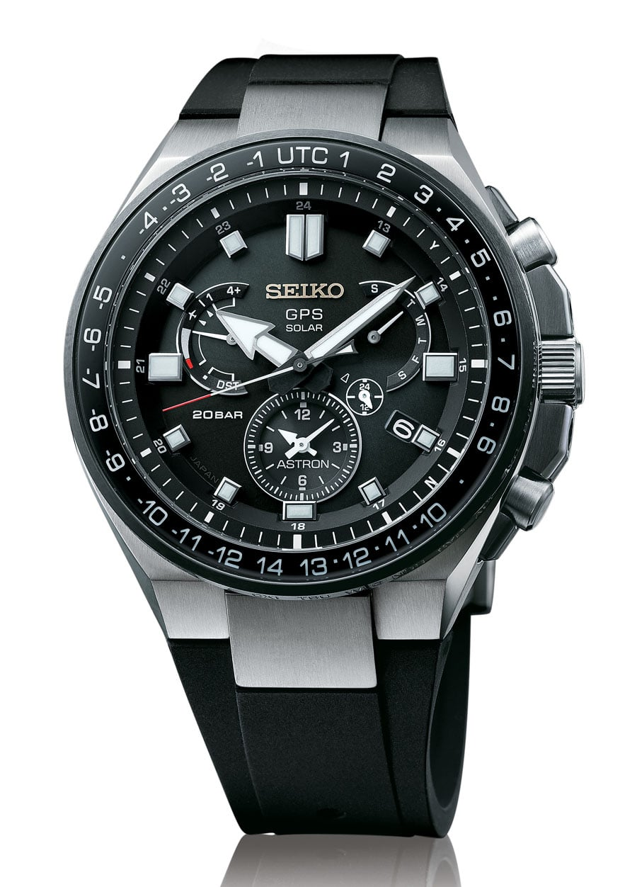 Seiko: Astron GPS Solar Dual Time Executive Sports Line