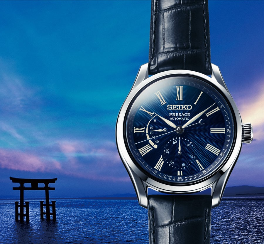 Seiko: Presage Shippo Enamel Limited Edition