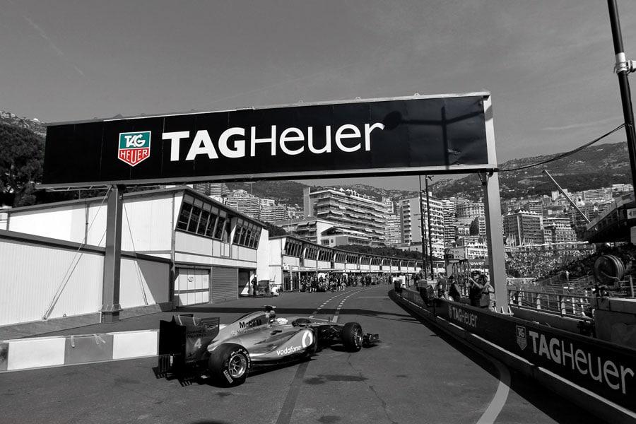 Seit 2011 ist TAG Heuer offizieller Zeitnehmer des Grand Prix in Monaco.