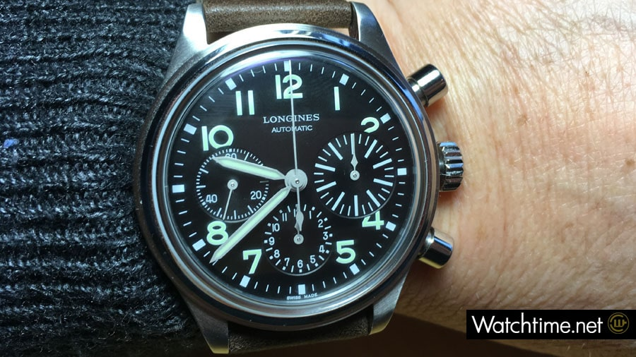 Longines: The Longines Avigation Big Eye im Hands-on