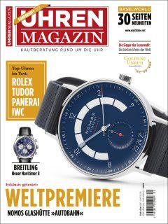 Das UHREN-MAGAZIN Sonderheft Baselworld mit der Weltneuheit Autobahn von Nomos Glashütte ist ab sofort erhältlich.