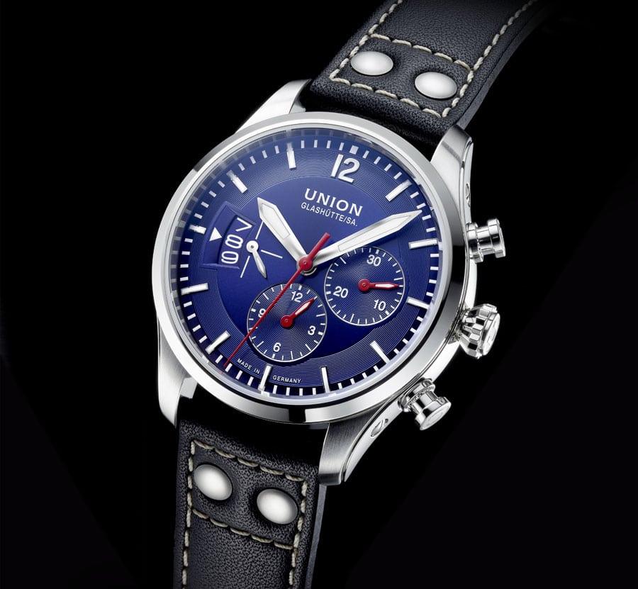 Union Glashütte: Belisar Pilot Chronograph