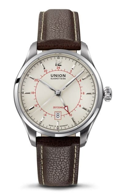 Union Glashütte: Belisar Zeitzone