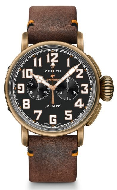 Zenith: Pilot Type 20 Chronograph Cohiba Maduro 5 Edition im Bronzegehäuse