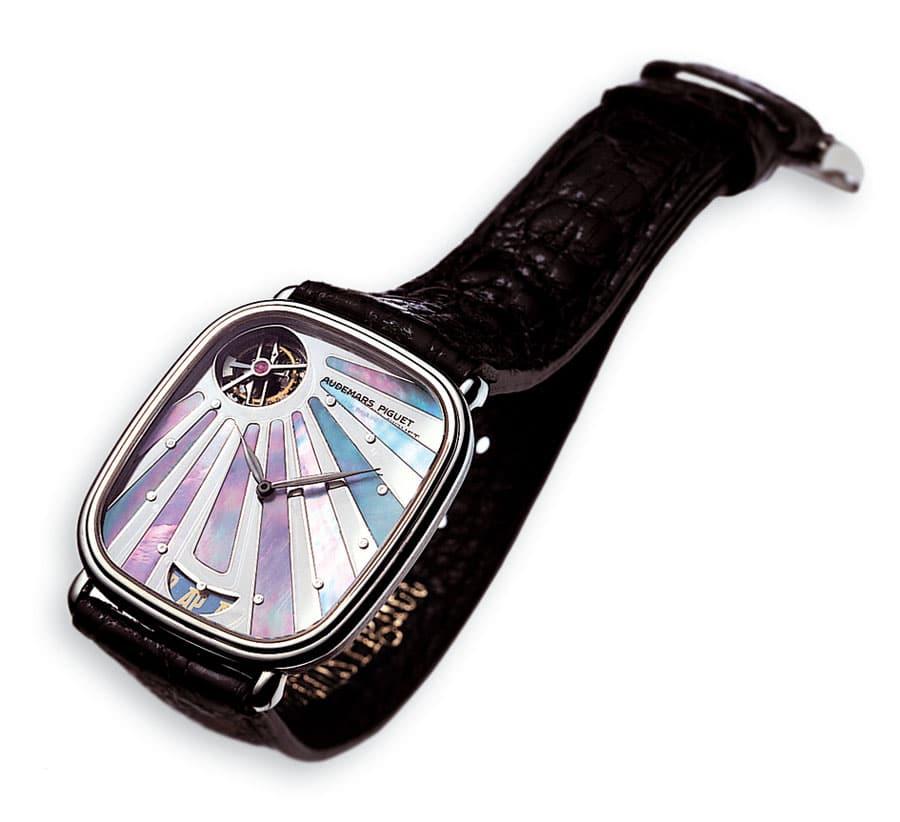 Audemars Piguet: Ultraflaches Armbandtourbillon mit Automatikaufzug von 1986