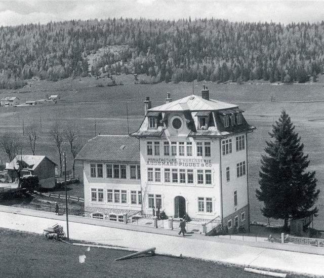 Audemars Piguet: Das 1907 errichtete Manufakturgebäude wurde mehrfach erweitert