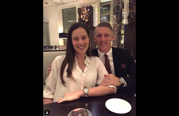 Bastian Schweinsteiger und Ana Ivanovic mit IWC und Rolex